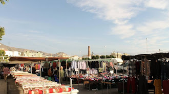 La Mojonera ya ha celebrado su primer mercado ambulante este martes día 2 de junio.