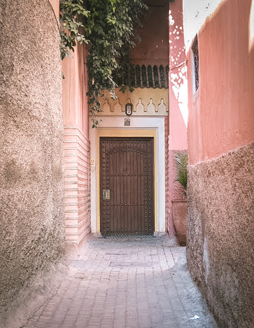 Entrance to Riad Al Moussika