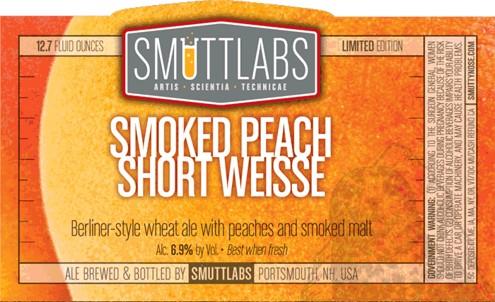 Logo of Smuttynose Smoked Peach Short Weisse