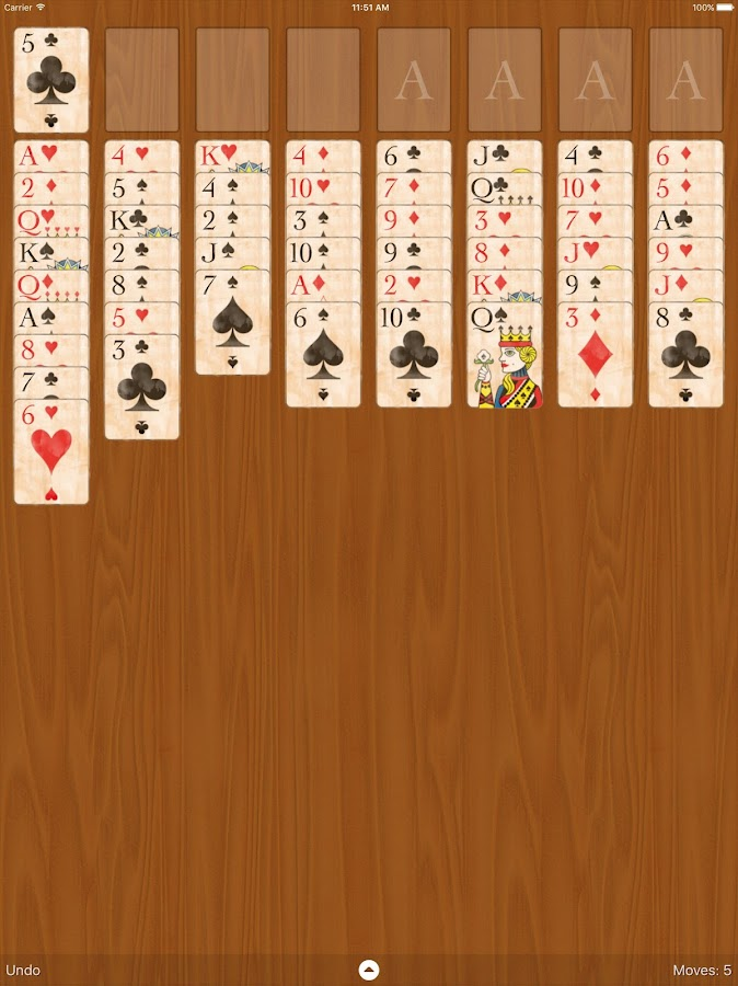 FreeCell Classic- screenshot