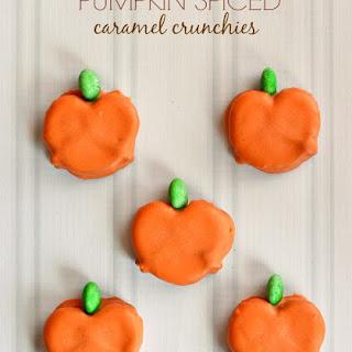 Pumpkin Spiced Caramel Crunchies