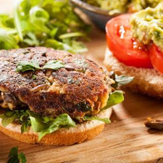 Vegan & Gluten-Free Black Bean Burgers.