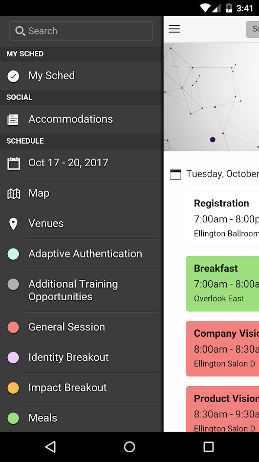 CONNECT17- screenshot
