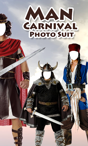 Man Carnival Photo Suit New