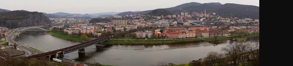 Photo: Samo město Ústí není zrovna z nejkrásnějších na světě, ale za to je vestavěno do úžasné krajiny.