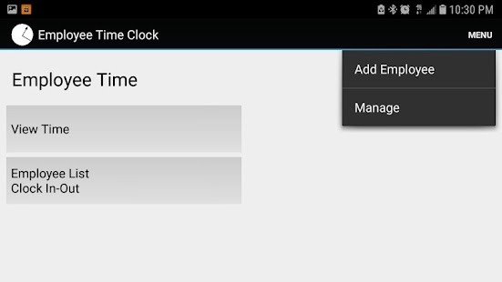 Employee Time Clock Free - náhled