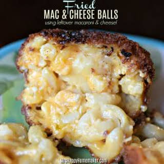 Fried Mac & Cheese Balls.