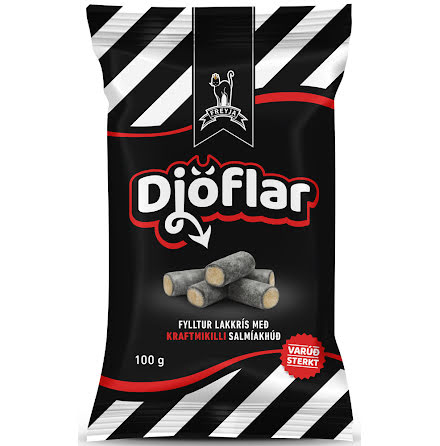 Lakrits Djöflar – Saltlakrits med saltlakritsfyllning - Freyja