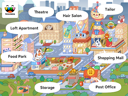 Toca Life: City Screenshot