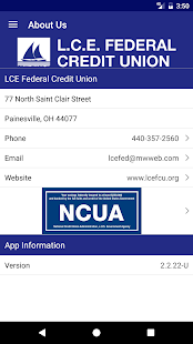 LCE Federal Credit Union- screenshot thumbnail
