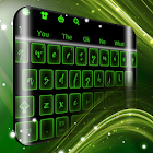 Neon Green Keyboard icon