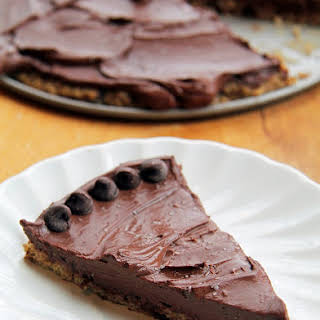 Salted Cookie Crust Mousse Pie.
