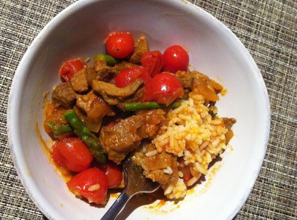 Asparagus And Lamb Stew Recipe