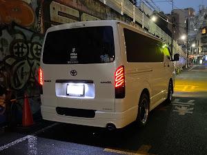 ハイエース TRH200Vのカスタム事例画像 mr-ace【青党】さんの2021年01月27日21:37の投稿