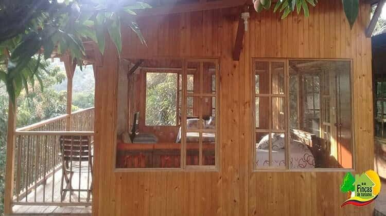 Cabañas en La Mesa