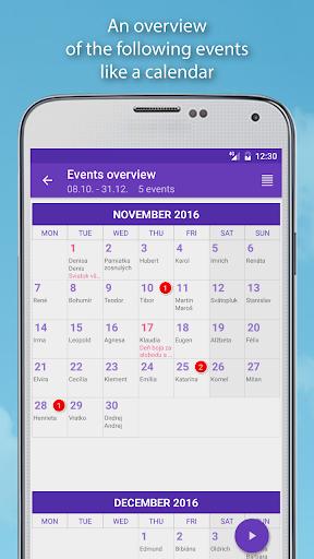 Name days Pro  screenshots 16