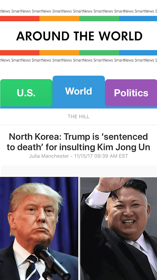 SmartNews: Breaking News Headlines- screenshot