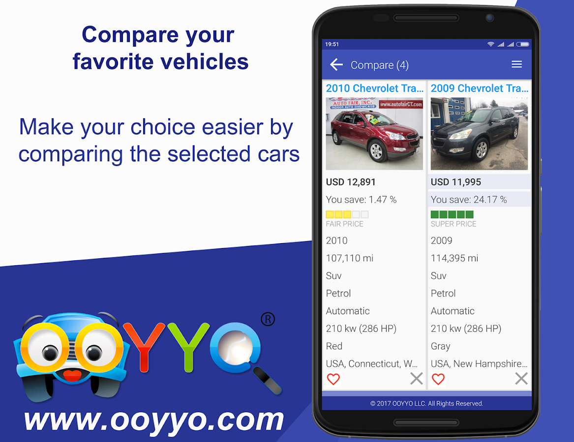 Used Cars for Sale – OOYYO- screenshot