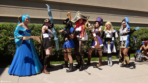 gorgeous cosplay this year at anime north 2013 in Toronto, Ontario, Canada