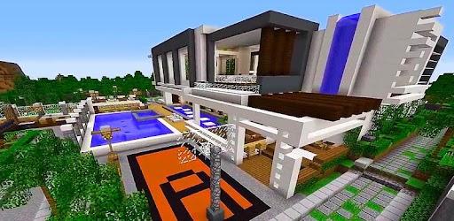 Bản đồ Mansion hiện đại cho Minecraft PE APK 0