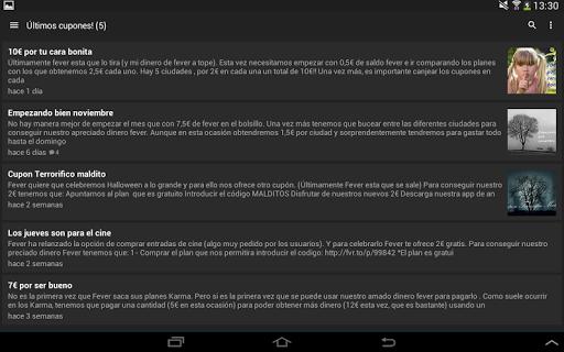 玩免費遊戲APP|下載Cupones Fever app不用錢|硬是要APP