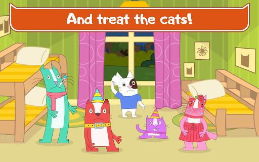 Cats Pets Animal Doctor Games for Kids! Pet doctor  screenshots 13