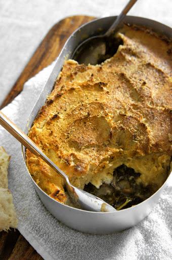 Beef Kale Shepherd's Pie