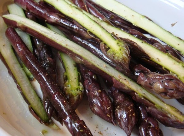 Grilled Purple Asparagus Recipe
