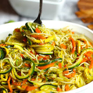 Pesto Vegetable Pasta.