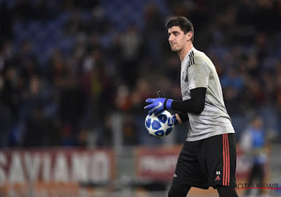Courtois is back!