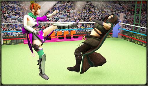Incredible Monster Superheroes Ring Battle  screenshots 18