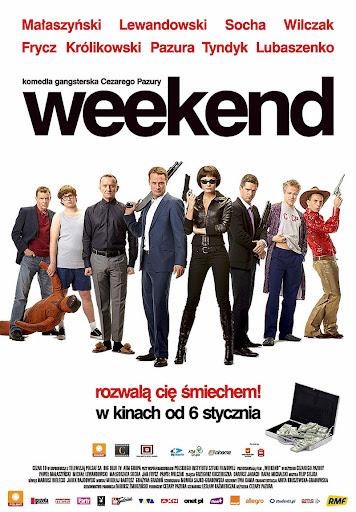 Polski plakat filmu 'Weekend'