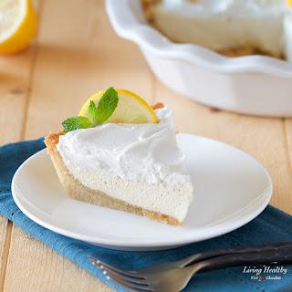 Paleo Lemon Cream Pie (gluten/grain/egg/dairy-free).