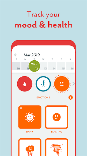 Period Tracker Clue: Ovulation, Period Tracker App screenshot 4