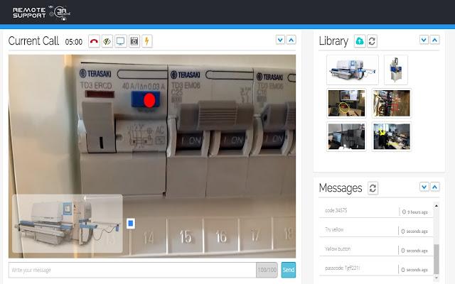 Industria40 Screensharing