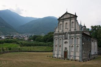 Photo: Bianzone - sanktuarium MB z1675 roku.