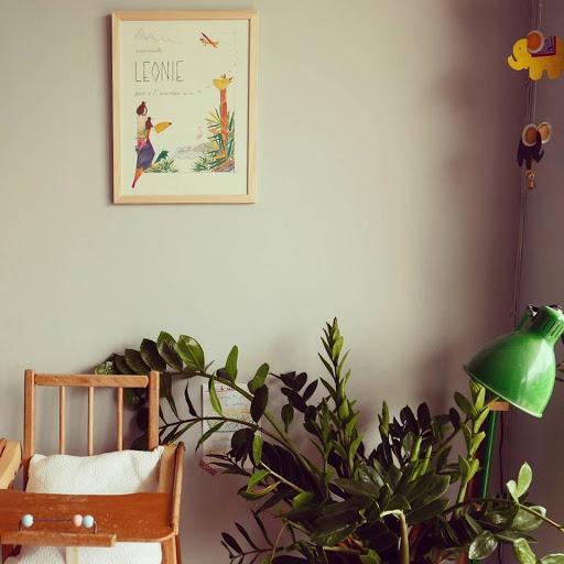 Affiche personnalisée - cadeau de naissance anniversaire enfant - aventure jungle flamands roses - chambre d'enfants - Illustre Albert -