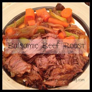Balsamic Beef Roast.