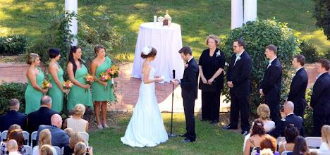 Photo: Wedding Ceremony Augusta Manor - Greenville,SC - http://WeddingWoman.net