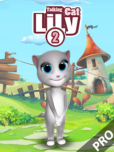 Talking Cat Lily 2 Pro- screenshot thumbnail