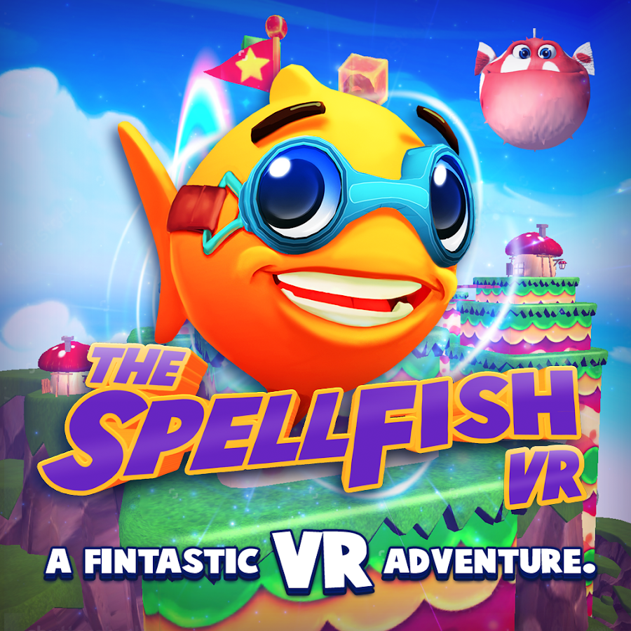Spell Fish VR- screenshot