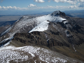 Photo: Of course we went up there, nothing like a 38mile approach to a 14er!