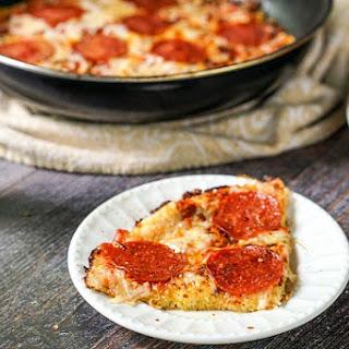 Skillet Spaghetti Squash Pizza (Low Carb, Gluten Free) Recipe