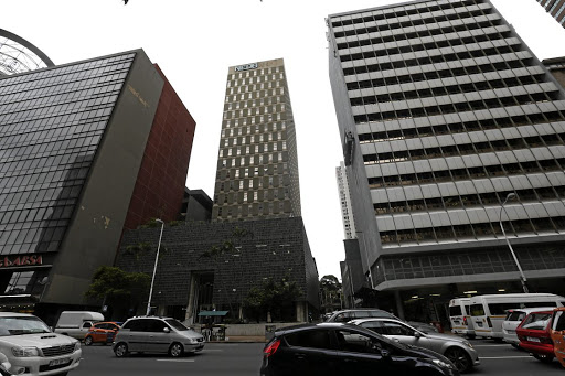 The old Nedbank building on Durban's Anton Lembede Street. Picture: JACKIE CLAUSEN