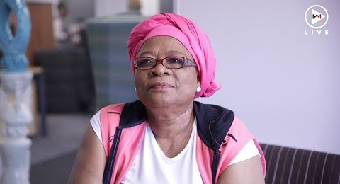 Veteran actress Lillian Dube.
