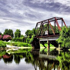 by Stacey Nagy - Buildings & Architecture Bridges & Suspended Structures ( bridge, jefferson texas bridge )