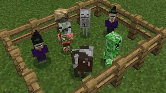 Baby Player Addon Mod for MCPE - náhled