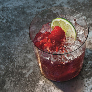 Raspberry-Rose Gin Rickey