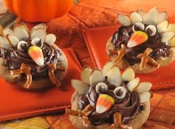 Thanksgiving Turkey Cookies BY NESTLE