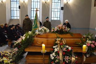 Photo: pogrzeb B. Napolskiej